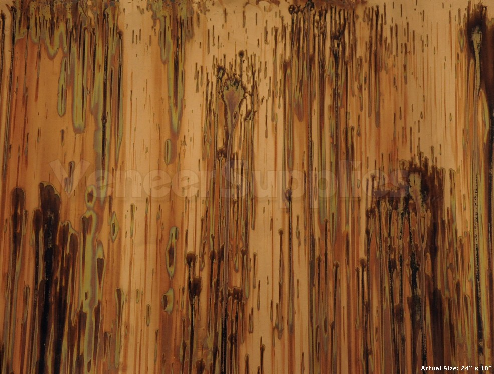 Patinated Copper Veneer Samples 11 95