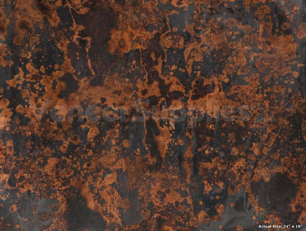Patinated Copper Veneer Samples 12 95