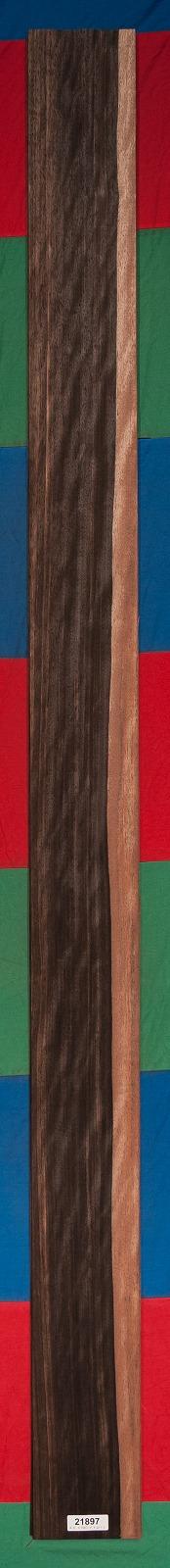 AAA Figured Ebony (Macassar) Veneer Sheet