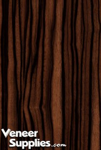 Paper Backed Ebony Veneer Macassar 4 X 8