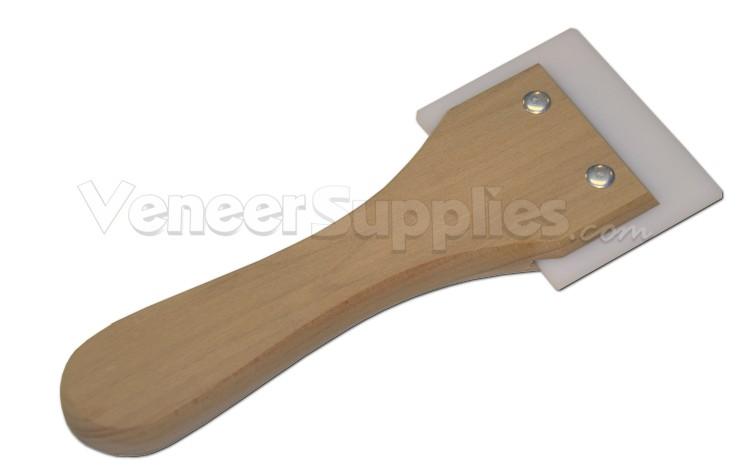 Veneer Scraper Tool for Applying Backed Veneers: $12.70