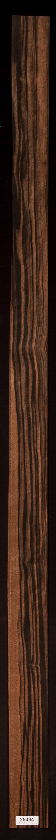 Quartersawn Ebony (Macassar) Veneer Lot