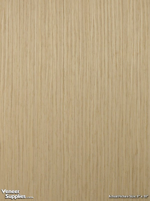 Paper backed white oak veneer quartersawn reconstituted