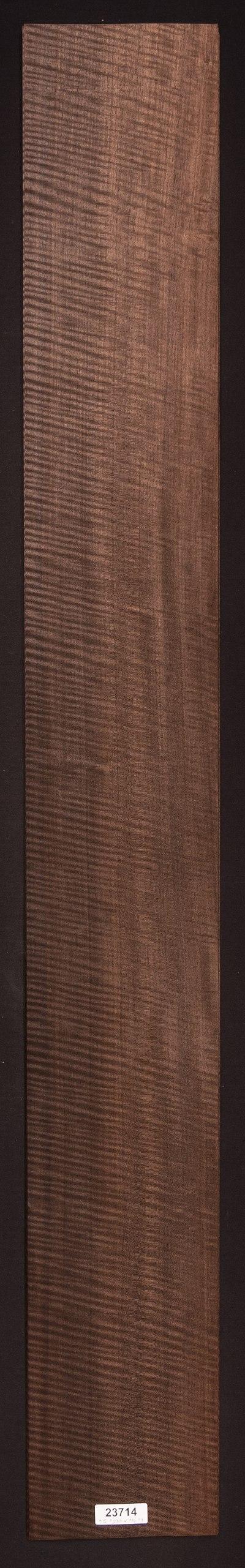 AAA Curly Fumed Etimoe Veneer Sheet