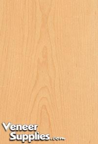 Paper Backed Maple Veneer Flat Cut 4 X 10