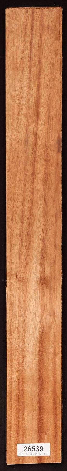 "43"" X 6.5"" 6 Sheets 11 Sq Ft Curly Red Oak Wood Veneer"