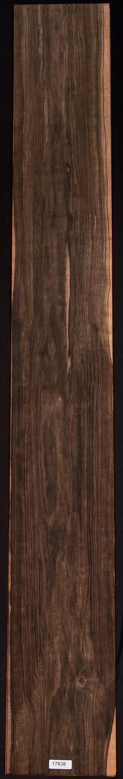 AAA Flat Cut Ebony (Macassar) Veneer Sheet