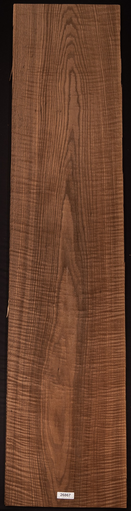 AAA Curly/Smoked Oak (Red) Veneer Sheet