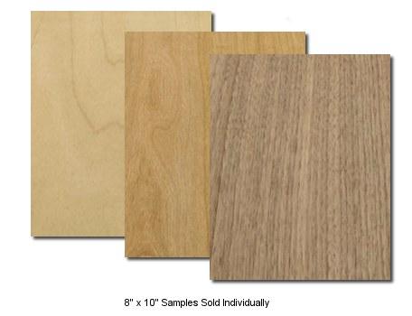 wood veneer sample
