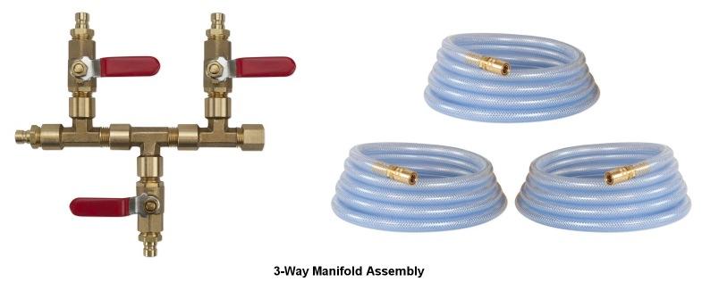 3 Way Manifold Kit