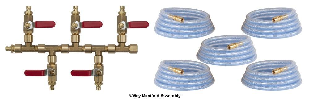 5 Way Manifold Kit
