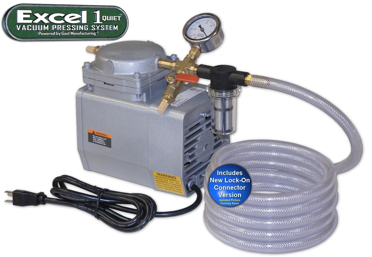 Excel 1 Quiet™ Vacuum Press Kit