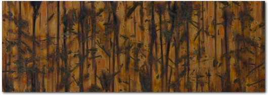 Bamboo Forest Copper Patina Veneer Sheet