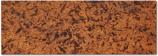 Distressed (Light) Copper Patina Veneer Sheet