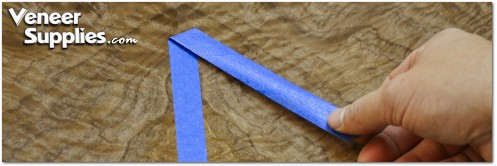 How to Remove Blue Tape from Veneer