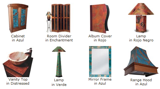 Copper Veneer Projects
