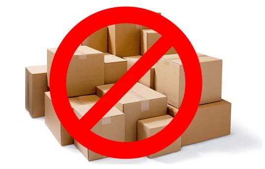 No Freight Forwarding