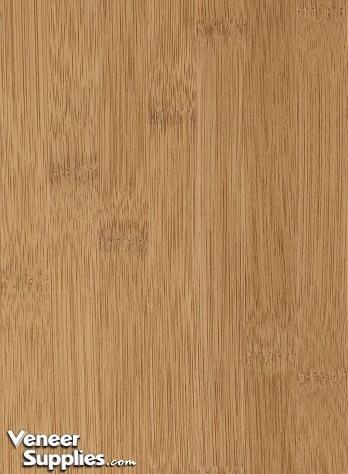 2 Ply Bamboo Veneer Caramel Color Narrow Grain 4 X 8