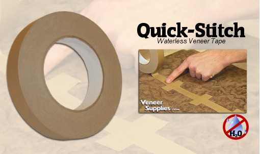 Veneer Joint Tape Quick Stitch Waterless Veneer Tape