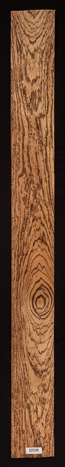 Birds Eye Zebrawood Veneer Sheet