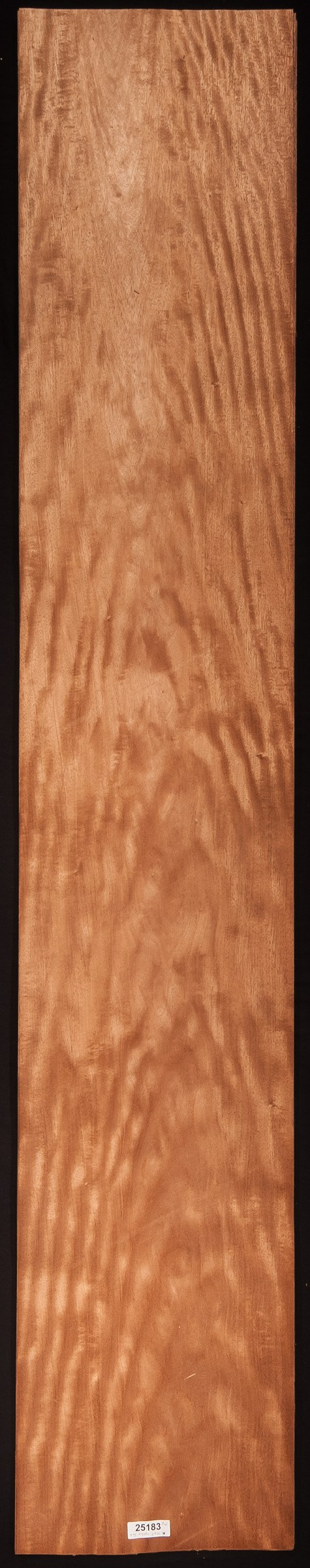 AAA Flat Cut/Figured Mahogany Veneer Sheet