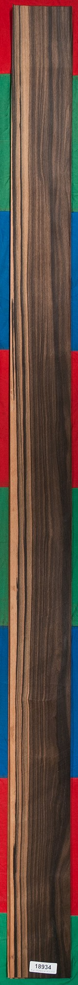 AAA Quartersawn Ebony (Macassar) Veneer Sheet