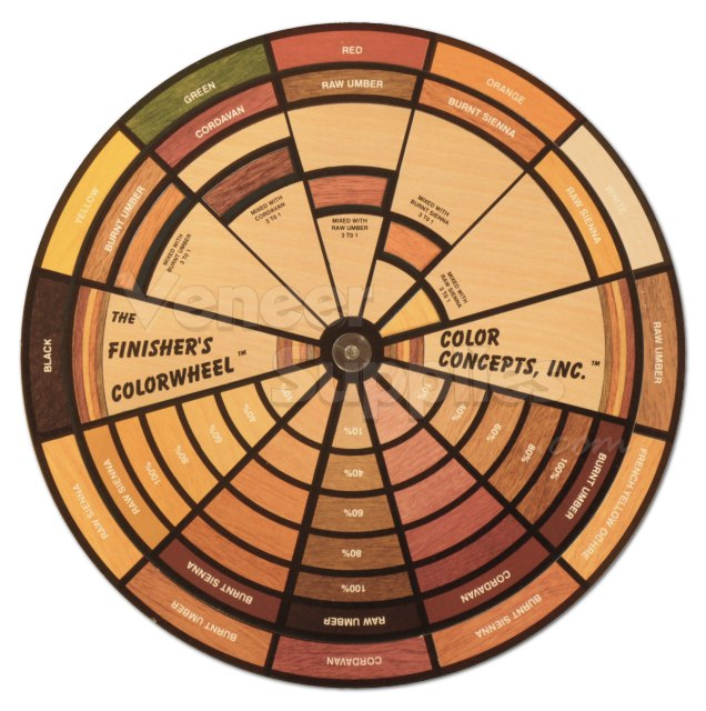 Color Wheel Brown Finisher's color wheel - in stock: $13.95