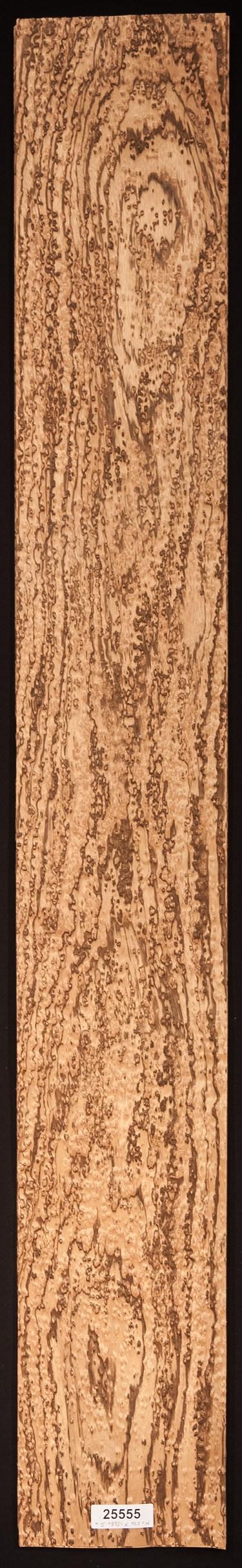 AAA Birds Eye Zebrawood Veneer Sheet